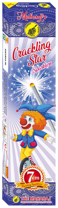 7cm Crackling Star Sparklers